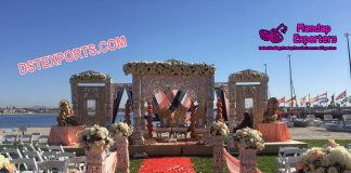 Latest Bollywood Style Wedding Mandap Set