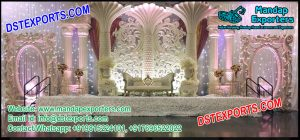 Latest Designed Asian Wedding Stage Decor