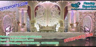 Latest Designed Asian Wedding Stage Decor