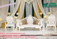 Latest Designed Indian Wedding Couch Set