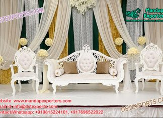 Latest Designed Indian Wedding Couch Set