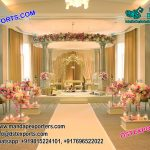 Latest Designed Pole Pillar Wedding Mandap
