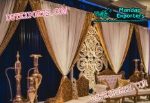 Latest Muslim Walima Stage Decor