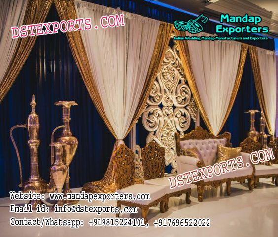 Latest Muslim Walima Stage Decor