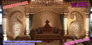Maharaja Wedding Stage Set Decoration