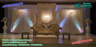Prominent Designed Asian Wedding Stage Decor