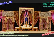 Rajwada Style Wedding Stage Set