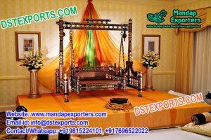 Sankheda Swing For Mehndi Stage Decoration