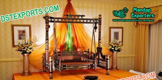 Sankheda Swing For Mehndi Stage Decoration