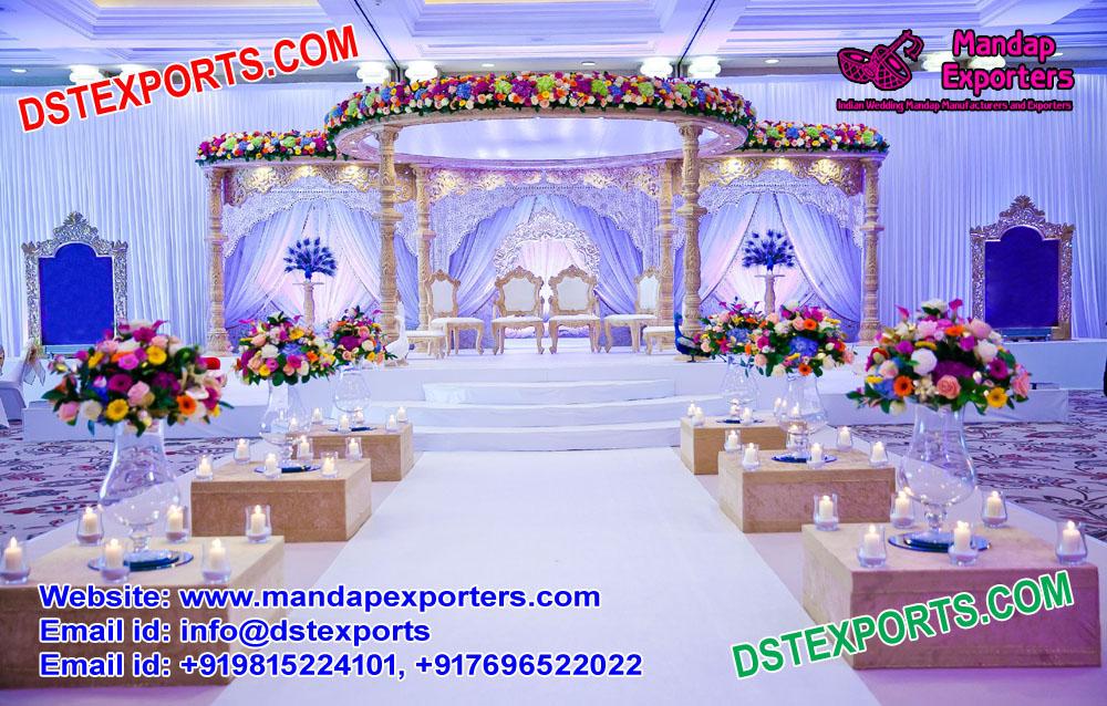 Spectacular Hindu Wedding Mandap Decor