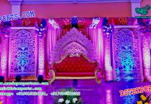 Asian Wedding Stage Backdrop Panels