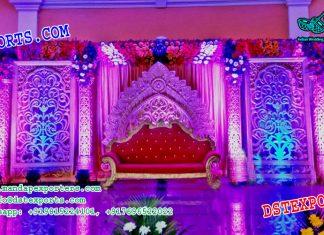 Asian Wedding Stage Backdrop Panels