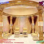 Elegant Wedding Crystal Mandapam