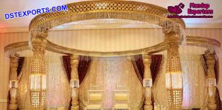 Elegant Wedding Crystal Mandapam