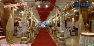 Elephant Tusk Wedding Welcome Gate Decor