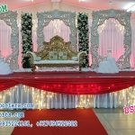 European Wedding Stage Set Decor