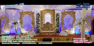 Gorgeous Wedding Backstage Panels Decor