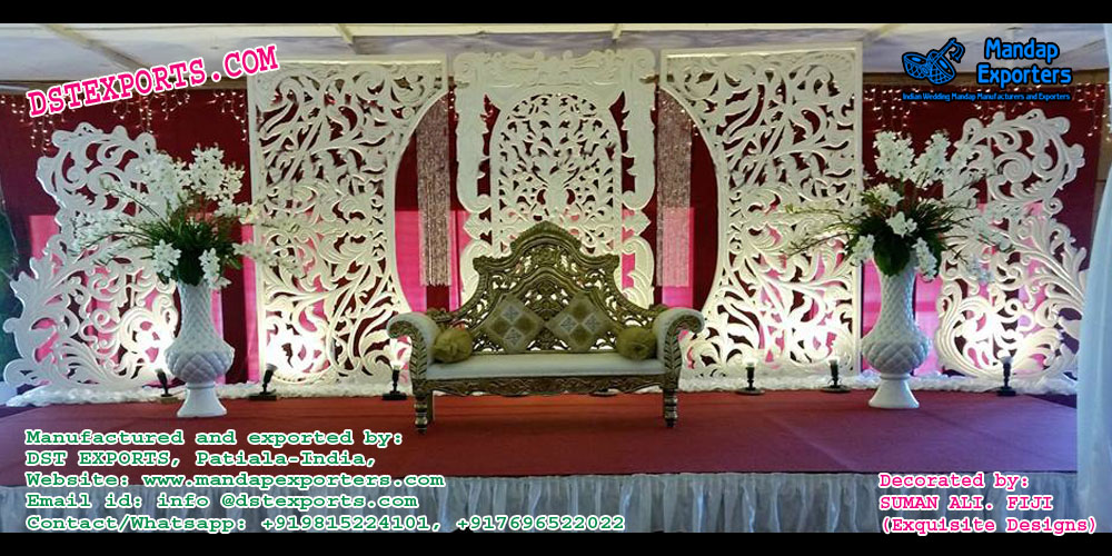 Grand Asian Wedding Stage Decor