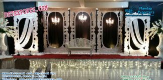Grand European Style Wedding Stage Decoration