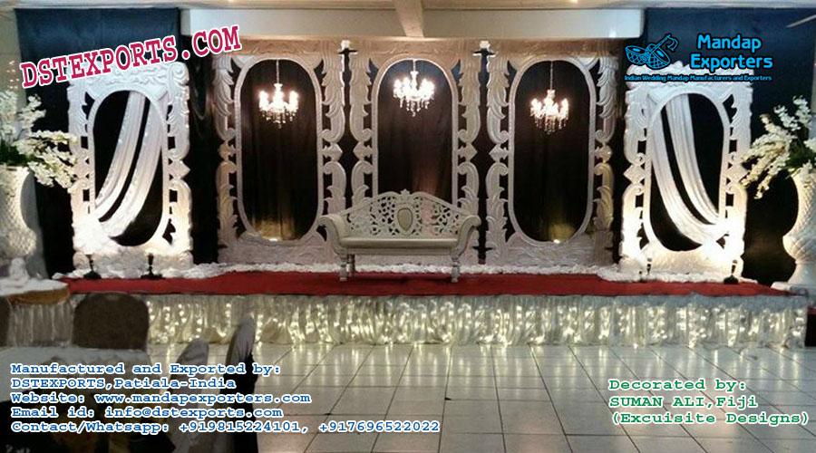 Grand European Style Wedding Stage Decoration