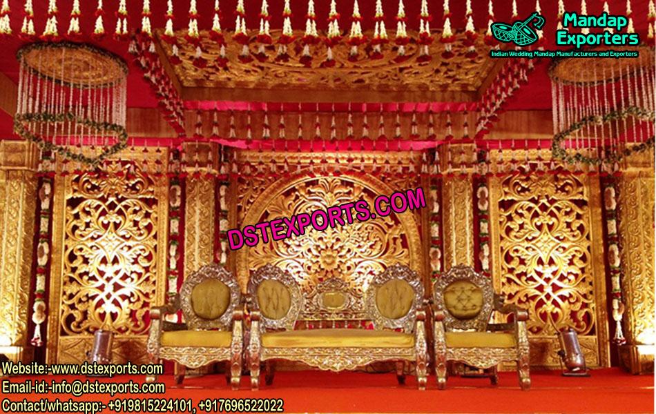 Grand Look Wedding Stage Decor UK