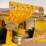 Hanging Kundan Wedding Props