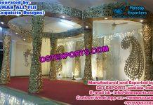 Hindu Wedding Golden Mandap Fiji