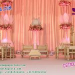 Hindu Wedding Mandap Sankheda Chairs