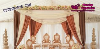Hindu Wedding Wooden Mandap Chairs