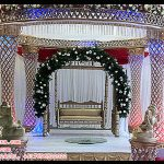 Indian Wedding Crystal Mandap