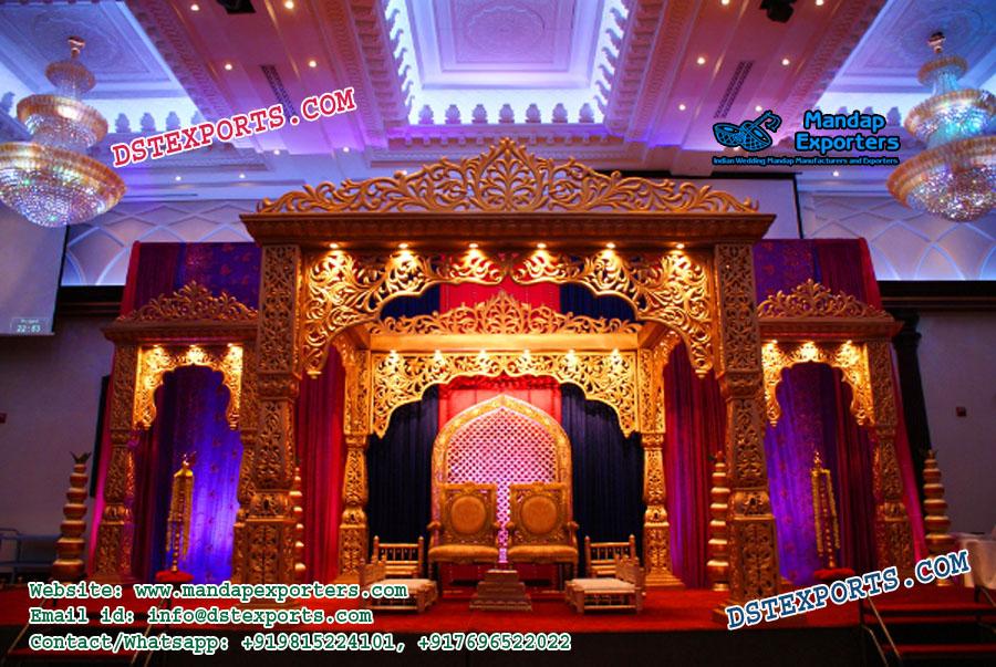 Indian Wedding Jodha Akbar Wedding Mandap Mandap Exporters
