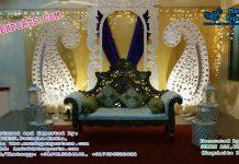 Indian Wedding Stage Set Decor