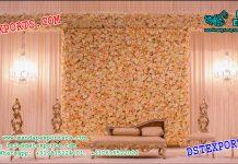 Indian Wedding Stunning Flower Wall