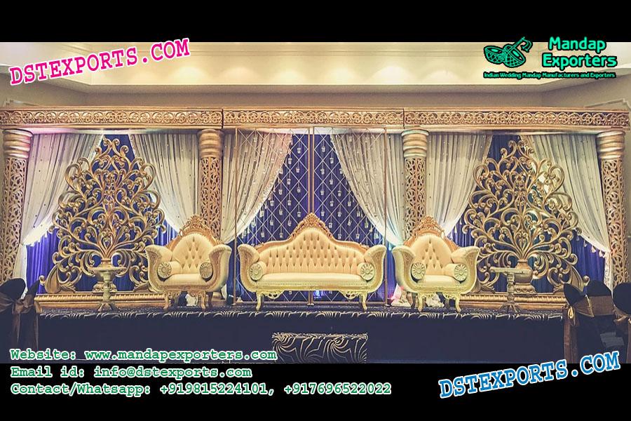 Latest Designed Asian Wedding Stage Decoration