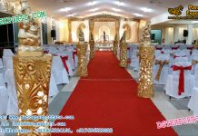 Latest Wedding Aiselway Pillars With Ganesha