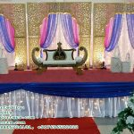 Maharaja Style Wedding Stage Decor