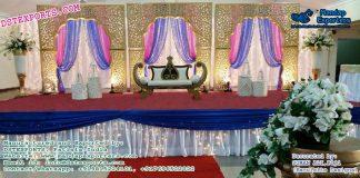 Maharaja Style Wedding Stage Decor