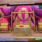 Mehndi Function Decor With Swing Set