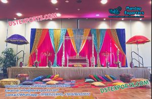 Mejastic Mehndi Stage Decor