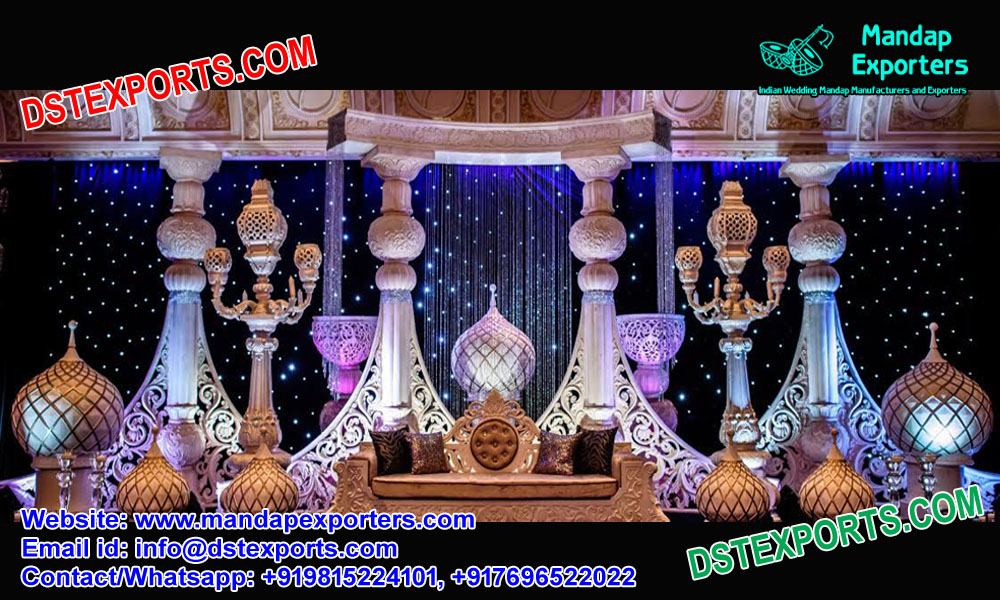 Moroccan Style Wedding Stage USA