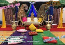 Muslim Mehandi Night Stage Setup