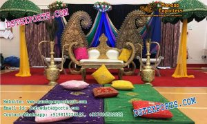 Muslim Mehandi Night Stage Setup