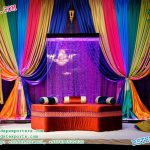 Muslim Mehndi Night stage Decor