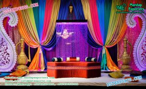 Muslim Mehndi Night Stage Decor \u2013 Mandap Exporters
