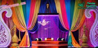 Muslim Mehndi Night stage Decor