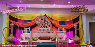 Muslim Walima Sangeet Stage Decor