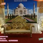 Muslim Wedding Stage Paisleys Decoration