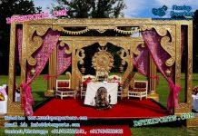 Open Style Bollywood Wedding Mandap