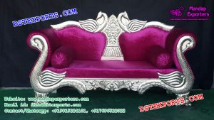 Peacock Style Royal Wedding Sofa