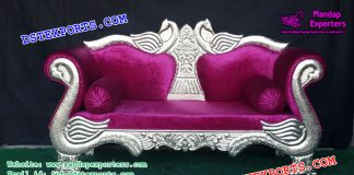 Peacock Style Royal Wedding Sofa